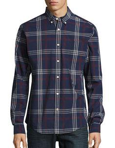 178acc2b TOMMY HILFIGER Tommy Hilfiger Plaid Button-Down Shirt. #tommyhilfiger #cloth  # Tommy