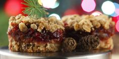 Cranberry-Date Crumble Squares