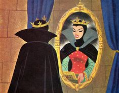 Walt Disney's Snow White and the Seven Dwarfs - illustrations by the Walt Disney Studio, adapted by Campbell Grant, story adapted by Jan Werner Disney Dream, Disney Love, Disney Magic, Studio Ghibli, Disney Villains, Disney Characters, Snow White Disney, Disney Concept Art, Walt Disney Studios