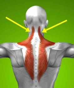 Pain behind ears and stiff neck when turning head