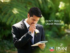 """Il motto di ogni sposo è """"Don't Crack Under Pressure"""". #Tag #Heuer sa come raggiungere l'obiettivo. www.pisanigioielleria.com"""