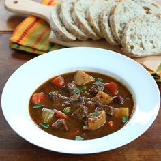 Nothing beats the classic, old-fashioned beef stew. This recipe comes with tips for achieving the ultimate rich depth of flavor!