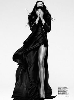 Naomi Campbell for Elle US February 2013 - 44FashionStreet.com