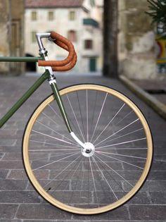 "Fixed+gear+bike+Vintage+""Olive"""