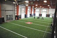 New Sports offering athletes, fitness buffs a new way to train Athletic Training, Sports Training, Indoor Soccer Field, Boxing Gym, Gym Design, Paintball, Get In Shape, College Football, Wolves