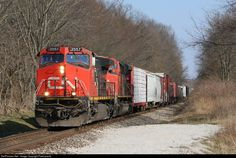 RailPictures.Net Photo: CN 2557 Canadian National Railway GE C44-9W (Dash 9-44CW) at Valparaiso, Indiana by Firemaneric