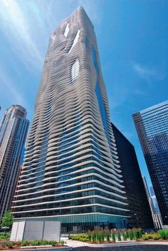 Aqua Tower - Chicago, États-Unis Our next trip to Chicago...this is a must see!