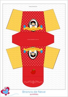 Papelaria personalizada criativa para suas melhores comemorações Snow White Characters, Craft Images, Princesas Disney, Favor Boxes, Pictures To Draw, Print And Cut, Free Paper, Princess Party, Playing Cards