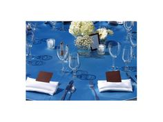 Manteleria Azul-bodas