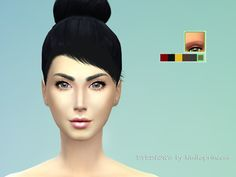 The Sims Resource: Defined Thick Eyebrows by kimikoprincess • Sims 4 Downloads