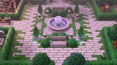 Animal Crossing Wild World, Animal Crossing Guide, Animal Crossing Qr Codes Clothes, Animal Crossing Villagers, Motifs Animal, Clinic Design, Outdoor Venues, Island Design, Garden Stones