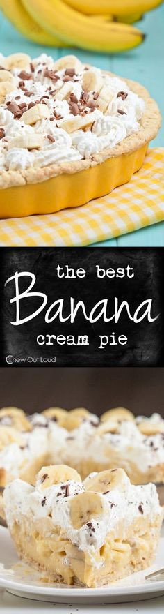 BEST BANANA CREAM PIE RECIPE