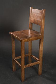 барный стул,дерево