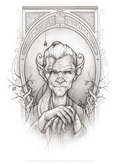 "Meet Grunewald - the Goblin king himself from the upcoming book ""Bessie Bell and the Goblin King"" by @chaelenglish"