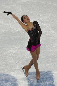 フィギュア女子SPで11位のリ・ジジュン、ソチ五輪