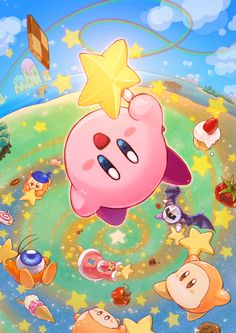 Hoshi no Kirby Pencil Board Comic Kirby Kirby