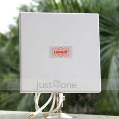 RP-SMA 2.4GHz 25dBi Directional Outdoor Wireless Yagi Antenna WiFi Router FF