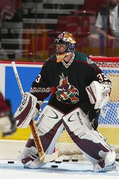 Coyotes Hockey, Phoenix Coyotes, Arizona Coyotes, Hockey Goalie, National Hockey League, Nhl, Baseball Cards, Hockey Stuff, Sports