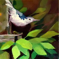 """Out on a Limb"" - Original Fine Art for Sale - © Laurie Mueller"