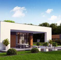 Zx185 to wyjątkowy dom z kategorii projekty domów do 150 m2 Arusha, Dorm, Garage Doors, House Design, Villa, Outdoor Decor, Classroom Quotes, Home Decor, Ideas