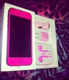 amazing pink iphone