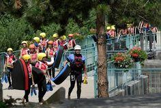 L'hydrospeed au Parc des eaux vives