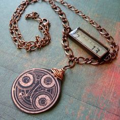 Timelord Necklace - Click image to find more Geek Pinterest pins