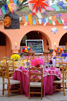 Authentic Mexican fiesta at Cuixmala, Mexico Designed and produced by Marianne Weiman Nelson, Special Occasions Event Planning