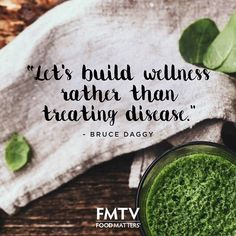 Because prevention is easy than reaction... #foodmatters #quotes #FMquotes