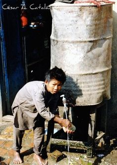 Water - the lack of which is causes the most deaths in the world!