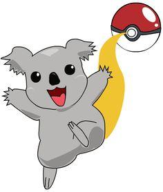 Phascolarctos cinereus (koala), I choose you!