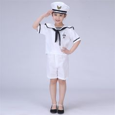 Men and Women Navy Clothing Children's Performance Service  Uniform Chorus Clothing Children