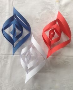 Crafts For Kids, Arts And Crafts, Independence Day, 4th Of July, Origami, Kindergarten, Centerpieces, Image, Barn