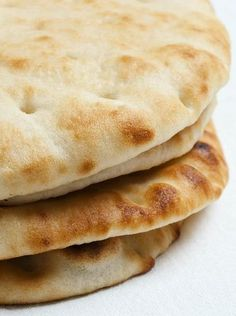 Flat Bread Recipe :: and dough storing instructions for fresh flat bread in a pinch