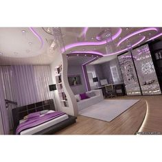 Dream bedroom  PURPLE (: