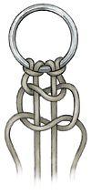 Macrame square knot - Bead Magazine
