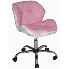 New Stylish Luxury Desinger Computer Office Desk Study Swivel PU Leather  Chair