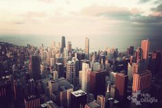 #chicago #photography #searstower #skyline #skyscrapers #vintage