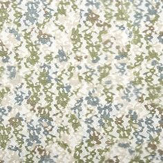 Camo Couture Fabric- Camo Foiled Lace Loden