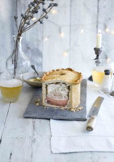 This turkey and ham raised pie is a little effort but is definitely worth it.