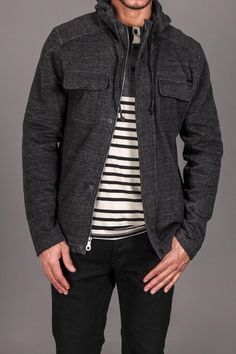 Nice jacket... Would look great with jeans