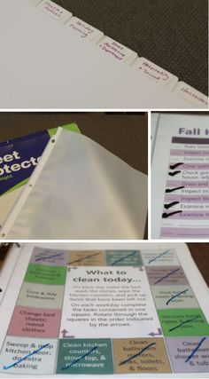 Building a Home Management Binder That Works for You - great printables for all kinds of things