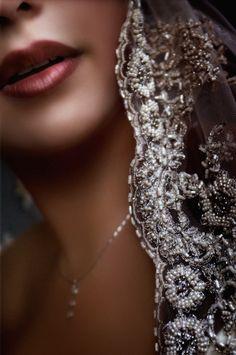 beautiful bride in a mantilla veil - photo by Australian wedding photographer Yervant | via junebugweddings.com