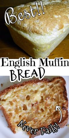 Bread Maker Recipes, Baking Recipes, Breadmaker Bread Recipes, Bread Machine English Muffin Bread Recipe, Recipe For Bread, English Food Recipes, Bread Machine Bread, Bread Machine Recipes Healthy, English Bread