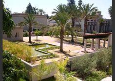 Rosicrucian Peace Park, San Jose, California.  Replica of 18th Dynasty garden.