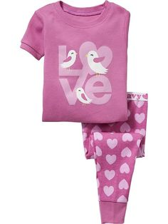 """Love"" PJ Sets for Baby Product Image"