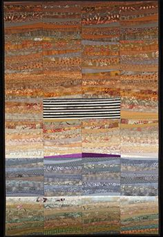 "The Quilts of Ann Brauer: The promise of mountains. What is the energy we feel from mountains? Quilt--32x48"". http://www.annbrauer.com"