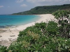 Kenting National Park Taipei, Taiwan ... Did you associate such blue water and white sandy beaches with Taiwan? - It's all yours on weekdays.