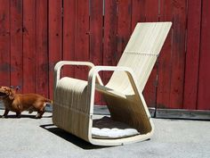 A chair for 2: Rocking Chair and Dog/Cat House   DesignRulz.com