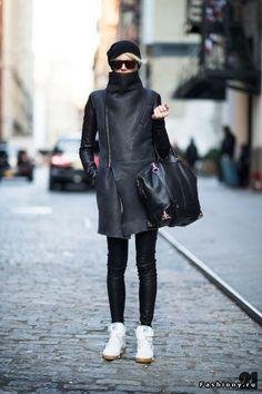 Черный цвет в твоем гардеробе